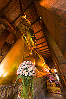 Wat Pho (Wat Po), Temple of the Reclining Buddha, Bangkok, Thailand