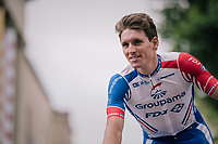 Arnaud D&eacute;mare (FRA/Groupama-FDJ) at the Team presentation in La Roche-sur-Yon<br /> <br /> Le Grand D&eacute;part 2018<br /> 105th Tour de France 2018<br /> &copy;kramon