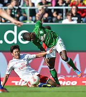 FUSSBALL   1. BUNDESLIGA   SAISON 2012/2013   2. Spieltag SV Werder Bremen - Hamburger SV                     01.09.2012         Heung Min Son (Hamburger SV)  gegen Eljero Elia (SV Werder Bremen)