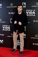 Pol Monen attends to 'Como la Vida Misma' film premiere during the 'Madrid Premiere Week' at Callao City Lights cinema in Madrid, Spain. November 12, 2018. (ALTERPHOTOS/A. Perez Meca) /NortePhoto.com
