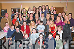21ST: Stephanie Egan, Kilcummin (seated centre) celebrates her 21st birthday with her mum Bridget, dad John and all her family and friends in the Old Killarney Inn, Aghadoe, last Friday night..