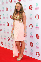 Michelle Heaton arriving at the Tesco Mum Of The Year Awards 2014, at The Savoy, London. 23/02/2014 Picture by: Alexandra Glen / Featureflash