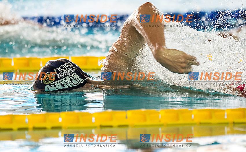 Andrea D'Arrigo Aurelia<br /> 400 stile libero uomini<br /> batterie giorno 03<br /> Campionati Italiani Assoluti Nuoto Primaverili Fin UnipolSai<br /> Riccione Italy 14-18/04/2015<br /> Photo Giorgio Scala/Deepbluemedia/Insidefoto