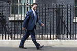 © Joel Goodman - 07973 332324 . 11/05/2015 . London , UK . STEPHEN CRABB leaves 10 Downing Street this afternoon (11th May 2015) . Photo credit : Joel Goodman