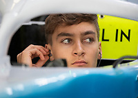 George RUSSELL (GBR) (ROKIT WILLIAMS RACING) during the Formula 1 Rolex British Grand Prix 2019 at Silverstone Circuit, Towcester, England on 14 July 2019. Photo by Vince  Mignott.