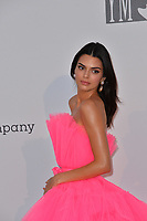 ANTIBES, FRANCE. May 23, 2019: Kendall Jenner at amfAR's Gala Cannes event at the Hotel du Cap d'Antibes.<br /> Picture: Paul Smith / Featureflash