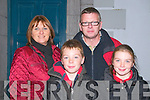 Listowel Wren Boy Competition Night : Pictured at the Wren Boy Competition night in Listowel on Friday night last were Norma, Mark Noel & Ruth Moore, Mountcoal, Listowel.