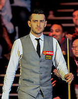 Mark Selby before the Dafabet Masters Quarter Final 3 match between Ronnie O'Sullivan and Mark Selby at Alexandra Palace, London, England on 14 January 2016. Photo by Liam Smith / PRiME Media Images