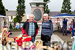 Attending the Craft Fair on Friday morning in the square Abbeyfeale are Jimmy Lenihan Ballybunion & Billy Keogh Tournafulla.