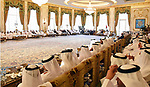 Sheikh Mohammed bin Zayed al-Nahyan Crown Prince of Abu Dhabi receives Egyptian President Abdel Fattah al-Sisi, in Abu Dhabi , on September 25, 2017. Photo by Egyptian President Office