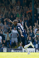 GOAL - Theo Robinson of Southend United scores during the Sky Bet League 1 match between Southend United and MK Dons at Roots Hall, Southend, England on 21 April 2018. Photo by Carlton Myrie.