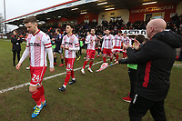 Stevenage vs Luton Town, Sky Bet EFL League 2 Football at the Lamex Stadium on 10th February 2018