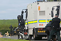 Army Bomb Disposal team are seen inthe grounds of St. Coleman's Cemetery, Lurgan, Monday, June 17th, 2019. (Photo by Paul McErlane) Army Bomb Disposal team are seen inthe grounds of St. Coleman's Cemetery, Lurgan, Monday, June 17th, 2019. (Photo by Paul McErlane)