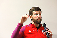 Oceanside, CA-Wednesday, June 19, 2019: US Soccer Coaches Ed Event at QLN conference center.  Matt Reiswerg speaks at the coaches event.