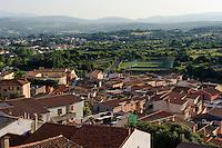 Blick von Santa Lucia auf Arzachena, Gallura, Provinz Olbia-Tempio, Nord Sardinien, Italien