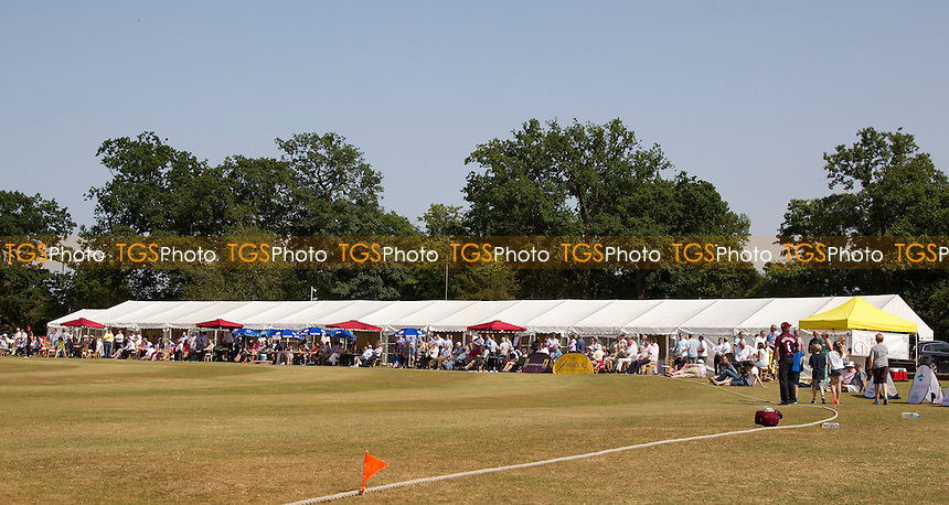 The Scene at the Old County Ground, Brentwood - Brentwood Buccaneers v Lashings World XI at the Old County Ground, Brentwood, Essex - 12/07/13 - MANDATORY CREDIT: Ray Lawrence/TGSPHOTO - Self billing applies where appropriate - 0845 094 6026 - contact@tgsphoto.co.uk - NO UNPAID USE