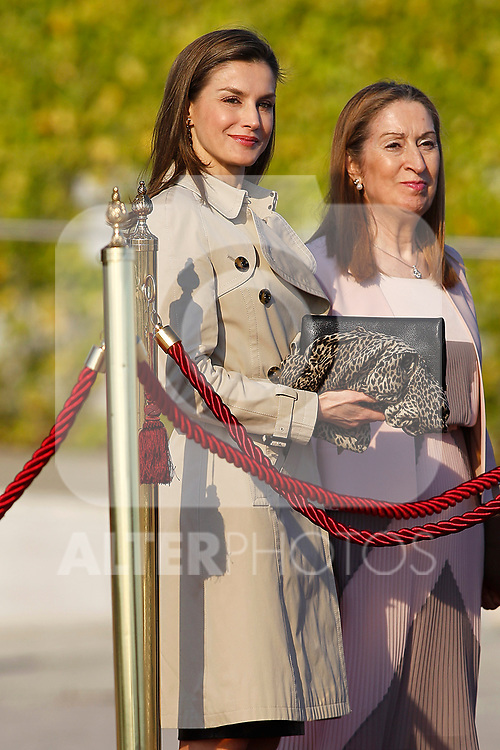 Queen Letizia of Spain departs for an official visit to Japan. April 3 ,2017. (ALTERPHOTOS/Acero)