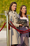 Queen Letizia of Spain departs for an official visit to Japan. April 3 ,2017. (ALTERPHOTOS/Acero)