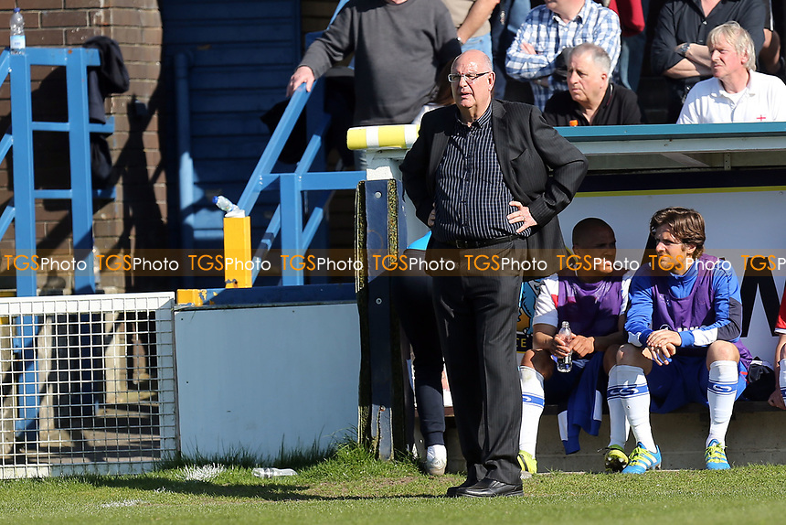 Dagenham and Redbridge manager John Still during Macclesfield Town vs Dagenham & Redbridge, Vanarama National League Football at the Moss Rose Stadium on 8th April 2017