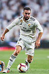 Daniel Carvajal Ramos of Real Madrid in action during the La Liga 2018-19 match between Real Madrid and Getafe CF at Estadio Santiago Bernabeu on August 19 2018 in Madrid, Spain. Photo by Diego Souto / Power Sport Images