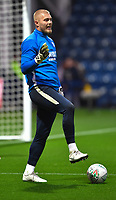 Preston North End's Connor Ripley<br /> <br /> Photographer Dave Howarth/CameraSport<br /> <br /> The Carabao Cup Third Round - Preston North End v Manchester City - Tuesday 24th September 2019 - Deepdale Stadium - Preston<br />  <br /> World Copyright © 2019 CameraSport. All rights reserved. 43 Linden Ave. Countesthorpe. Leicester. England. LE8 5PG - Tel: +44 (0) 116 277 4147 - admin@camerasport.com - www.camerasport.com