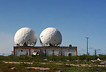 TWIN GOLF BALLS;  rocket range radar system