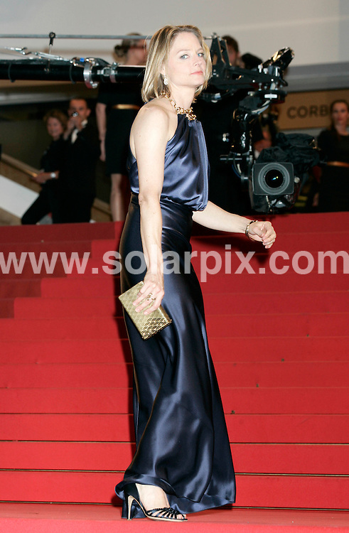 **ALL ROUND PICTURES FROM SOLARPIX.COM**                                             **UK AND SPAIN SYNDICATION RIGHTS ONLY**                                                                                  Caption: Melancholia film premiere during the 64th Cannes Film Festival, Cannes, France. 18 May 2011                                                                             This pic: Jodie Foster                                                                                         JOB REF: 13380 CPR Heinz      DATE: 18_05_2011                                                            **MUST CREDIT SOLARPIX.COM OR DOUBLE FEE WILL BE CHARGED**                                                                      **MUST AGREE FEE BEFORE ONLINE USAGE**                               **CALL US ON: +34 952 811 768 or LOW RATE FROM UK 0844 617 7637**