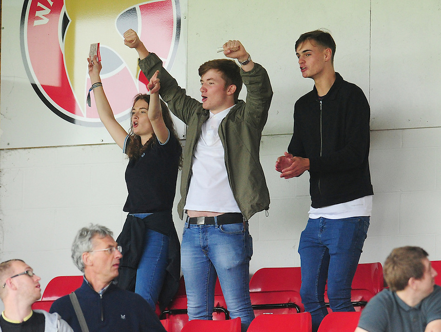 Bolton Wanderers fans enjoy the pre-match build up<br /> <br /> Photographer Kevin Barnes/CameraSport<br /> <br /> The EFL Sky Bet League One - Walsall v Bolton Wanderers - Saturday 17th September 2016 - Banks's Stadium - Walsall<br /> <br /> World Copyright &copy; 2016 CameraSport. All rights reserved. 43 Linden Ave. Countesthorpe. Leicester. England. LE8 5PG - Tel: +44 (0) 116 277 4147 - admin@camerasport.com - www.camerasport.com