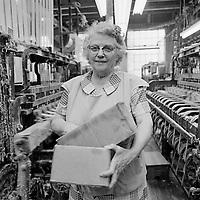 RM-180 narrow fabric weaver, Arbeka Webbing, Pawtucket, RI 1974