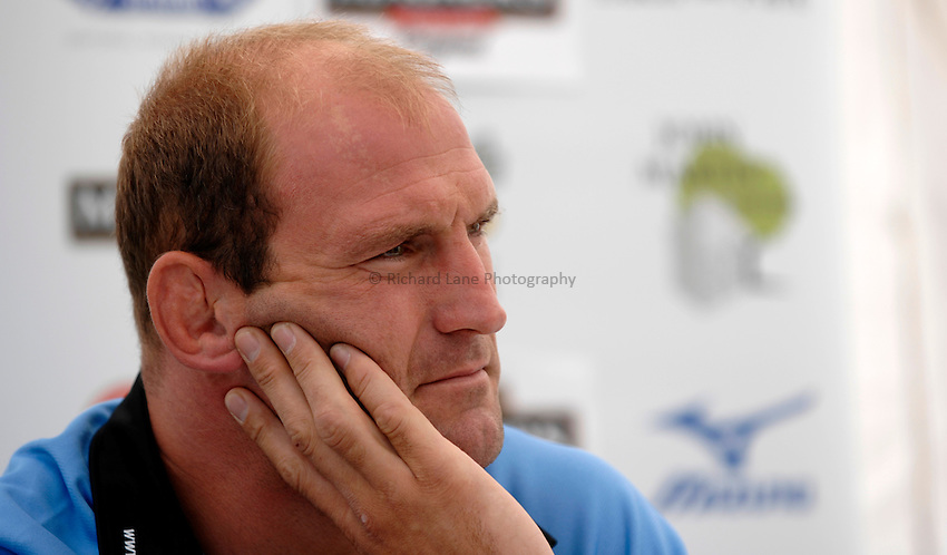 Photo: Richard Lane..London Wasps Press Conference. 15/08/2006..Wasps' captain, Lawrence Dallaglio.