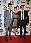 CENTURY CITY, CA. - November 05: Dev Patel, Freida Pinto and Danny Boyle attend the 18th Annual BAFTA/LA Britannia Awards at the Hyatt Regency Century Plaza Hotel on November 5, 2009 in Century City, California.