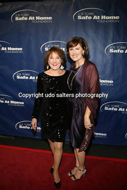 Suzyn Waldman and Ali Torre at the 11TH ANNIVERSARY OF THE JOE TORRE SAFE AT HOME FOUNDATION HELD A CHELSEA PIERS SIXTY, NY
