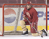 Paul Stastny - Reigning national champions (2004 and 2005) University of Denver Pioneers practice on Friday morning, December 30, 2005 before hosting the Denver Cup at Magness Arena in Denver, CO.