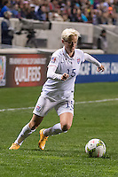 Bridgeview, IL - Friday, October 17, 2014:  The USWNT play Guatemala in a CONCACAF Women's Championship game at Toyota Park, in Bridgeview, IL.  The USWNT defeated Guatamala by tthe score of 5-0.