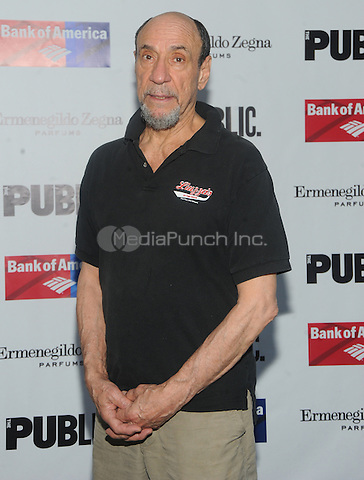 New York, NY- August 5 : F.Murray Abraham attends the Public Theater's Opening Night of King Lear on August 5, 2014 at the Delacorte Theater in Central Park in New York City. . Credit: John Palmer/MediaPunch