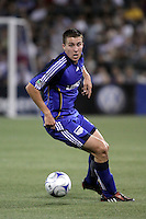 Matt Besler,.Columbus Crew defeated Kansas City Wizards 2-0 at Community America Ballpark, Kansas  City, Kansas.