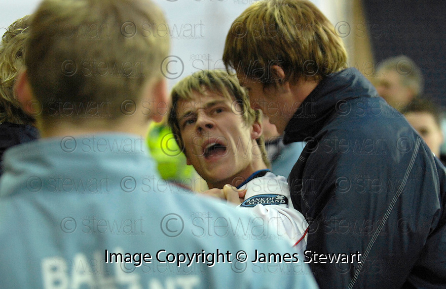 30/12/2006       Copyright Pic: James Stewart.File Name : sct_jspa12_falkirk_v_inverness.IAIN BLACK AFTER BEING SENT OFF AT HALF TIME....James Stewart Photo Agency 19 Carronlea Drive, Falkirk. FK2 8DN      Vat Reg No. 607 6932 25.Office     : +44 (0)1324 570906     .Mobile   : +44 (0)7721 416997.Fax         : +44 (0)1324 570906.E-mail  :  jim@jspa.co.uk.If you require further information then contact Jim Stewart on any of the numbers above.........