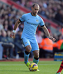Pablo Zabaleta of Manchester City<br /> - Barclays Premier League - Southampton vs Manchester City - St Mary's Stadium - Southampton - England - 30th November 2014 - Pic Robin Parker/Sportimage