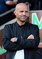 Milton Keynes Dons manager Paul Tisdale<br /> <br /> Photographer Alex Dodd/CameraSport<br /> <br /> The EFL Sky Bet League One - Blackpool v MK Dons  - Saturday September 14th 2019 - Bloomfield Road - Blackpool<br /> <br /> World Copyright © 2019 CameraSport. All rights reserved. 43 Linden Ave. Countesthorpe. Leicester. England. LE8 5PG - Tel: +44 (0) 116 277 4147 - admin@camerasport.com - www.camerasport.com