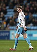 Cian Harries of Coventry City during the The Checkatrade Trophy - EFL Trophy Semi Final match between Coventry City and Wycombe Wanderers at the Ricoh Arena, Coventry, England on 7 February 2017. Photo by Andy Rowland.