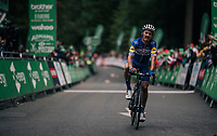Julian Alaphilippe (FRA/Quick-Step Floors) finishing 2nd up Whinlatter Pass<br /> <br /> Stage 6: Barrow-in-Furness to Whinlatter Pass (168km)<br /> 15th Ovo Energy Tour of Britain 2018