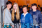 Enjoying the Monster Bingo at Mercy Mounthawk Secondary School Tralee on Sunday were l-r: Brid and Aoife King (Kilmoyley) with Ina O'Shea St. Brendan's Park, Tralee) and Rosarie Horgan (Tralee).