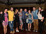 David Corr celebrating his 30th birthday in the Westcourt hotel with all his Australian travelling friends  Photo:Colin Bell/pressphotos.ie