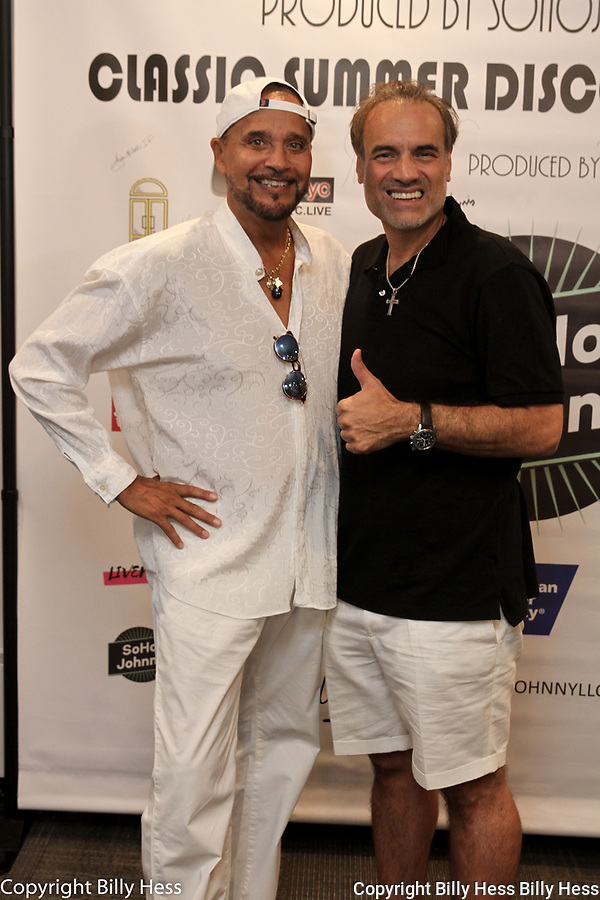 Soho Johnny's Disco Extravaganza benefiting the American Cancer Society. Soho Johnny Soho Johnny recording artist  music and event promoter, NYC real estate mogul