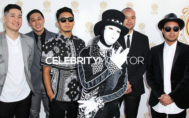 HOLLYWOOD, LOS ANGELES, CA, USA - JUNE 01: Jabbawockeez at the 12th Annual Huading Film Awards held at the Montalban Theatre on June 1, 2014 in Hollywood, Los Angeles, California, United States. (Photo by Xavier Collin/Celebrity Monitor)