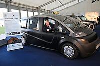 Boris Johnson at the launch of Future London Taxi.