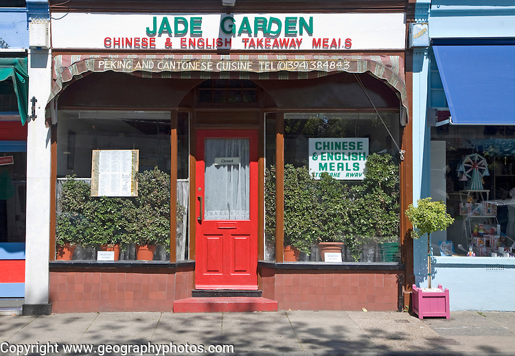 Jade Garden Chinese and English takeaway meals, Woodbridge, Suffolk, England
