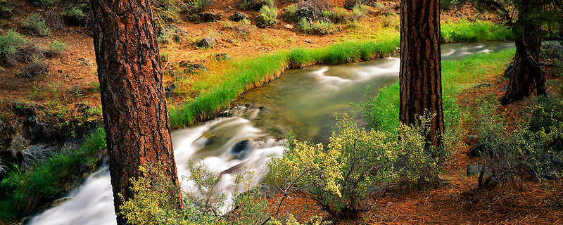 Paulina Creek. Newberry National Volcanic Monument. Oregon.