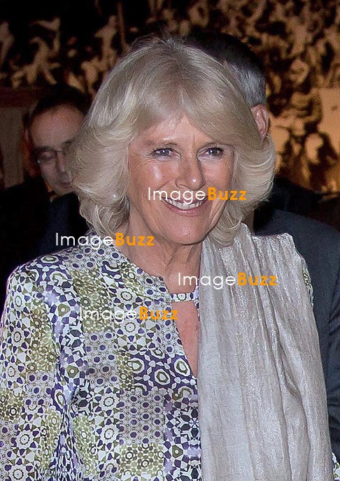 CAMIILLA, DUCHESS OF CORNWALL AND PRINCE CHARLES.attend a reception at the Royal Automobile Museum in Amman, Jordan_12/03/2013.The Royal couple are on a tour of four Middle Eastern countries