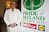 02/04/2015<br /> Grainne o Carroll UTV Producer<br />  during the Pride of Ireland judging day in the Mansion House, Dublin.<br /> Photo:  Gareth Chaney Collins